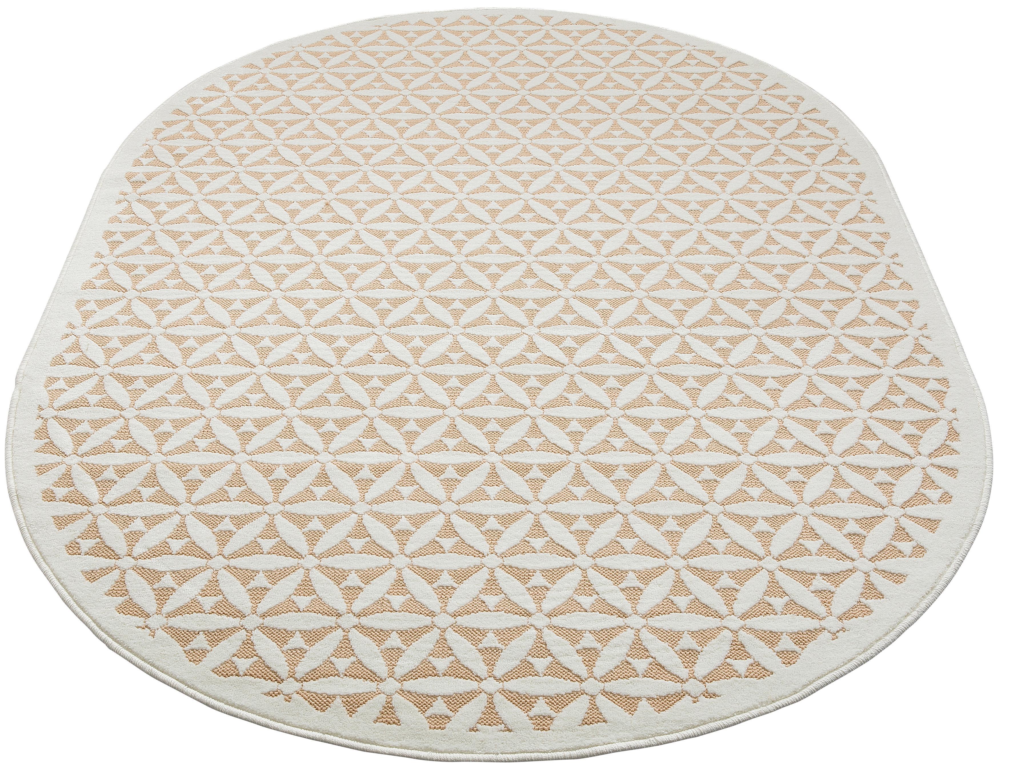 Teppich Idir my home oval Höhe 7 mm maschinell gewebt