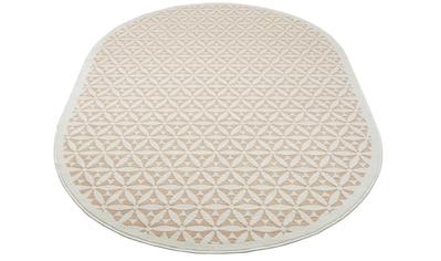 Teppich, »Idir«, my home, oval, Höhe 7 mm, maschinell gewebt kaufen