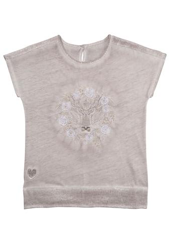 MarJo Trachtenshirt, im Used-Look mit Stickerei kaufen