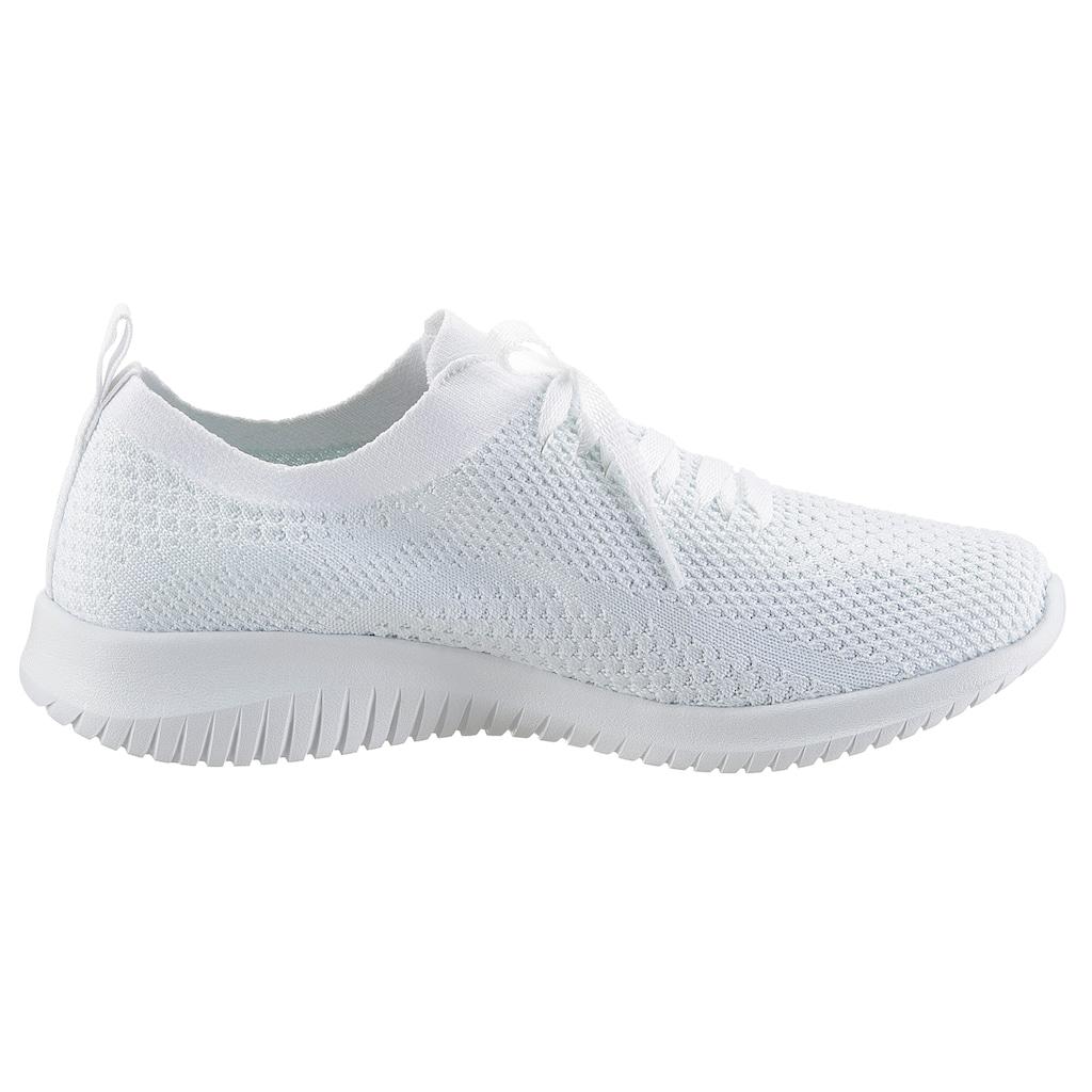 Skechers Slip-On Sneaker »ULTRA FLEX«, in Strick-Optik