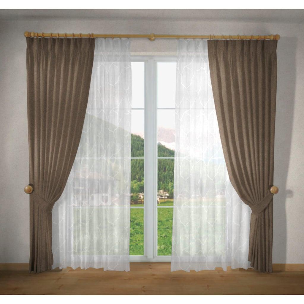"""VHG Vorhang »Una«, Vorhang """"Una"""", VHG, mit Ösen"""