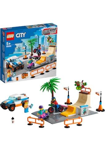 LEGO® Konstruktionsspielsteine »Skate Park (60290), LEGO® City Community«, (195 St.),... kaufen