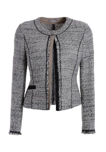 TUZZI Tweedjacke mit kontrastierendem Fakevelours kaufen