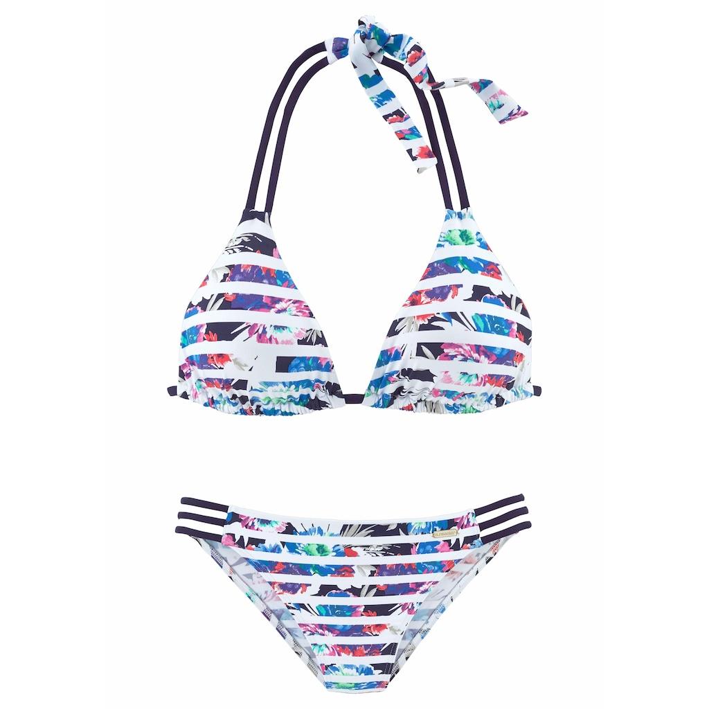 Sunseeker Triangel-Bikini, mit seitlichen Bändern