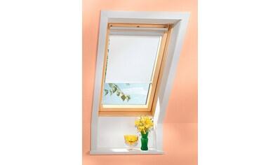 VELUX Sichtschutzrollo , für PK06/ - 08/ - 10, P06/ - 08/ - 10, 406, 408, 410, 419, rustik kaufen