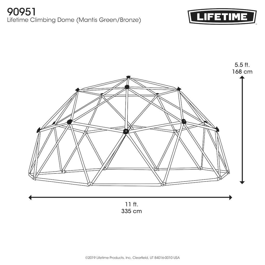50NRTH Klettergerüst »Lifetime Geodome«, ØxH: 334x168 cm