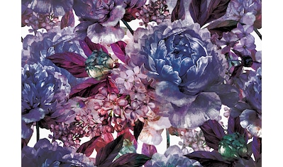 Consalnet Papiertapete »Violettes Blumen Muster«, floral kaufen