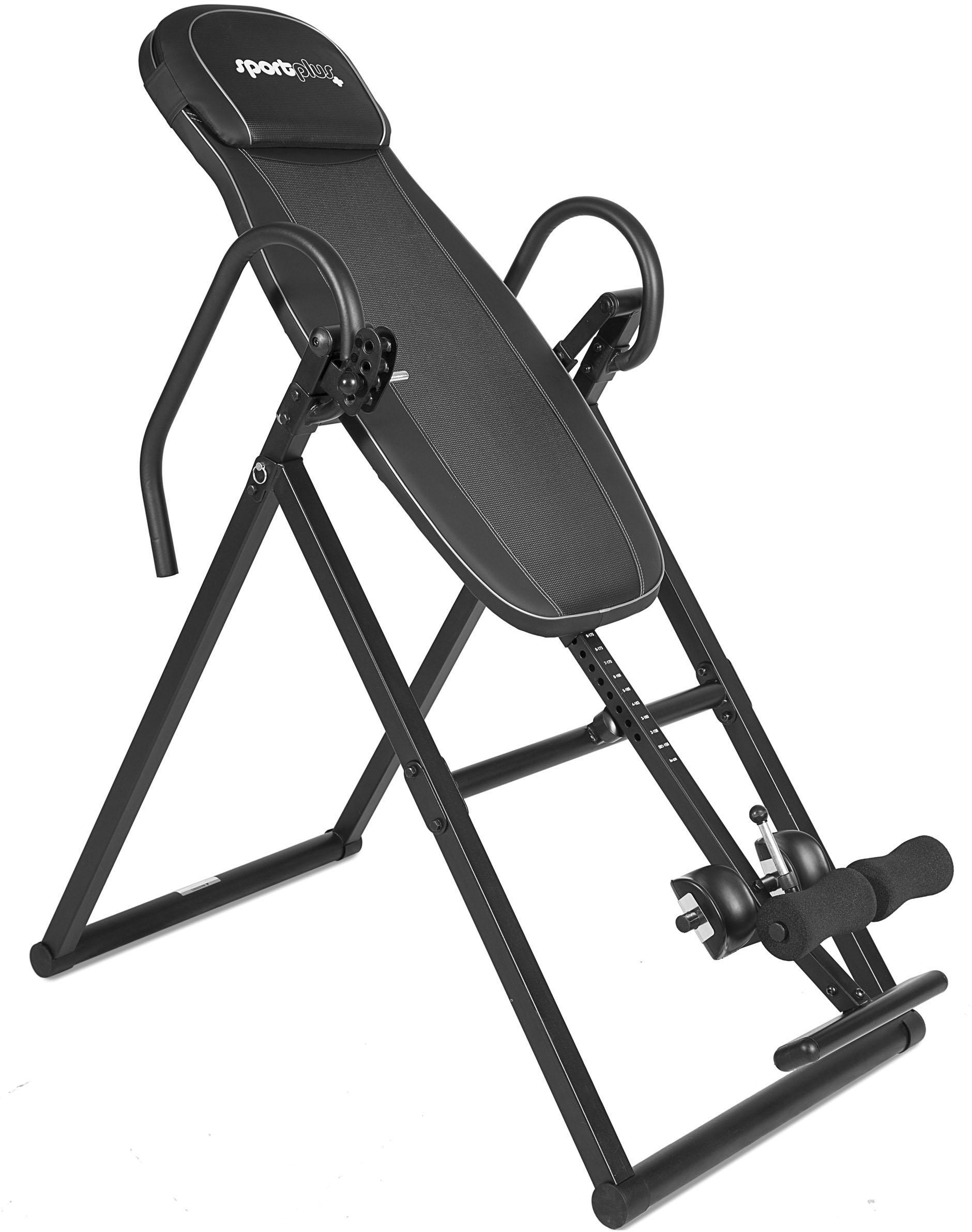 SportPlus Trainingsbank SP-INV-010-B schwarz Fitness Ausrüstung Sportarten