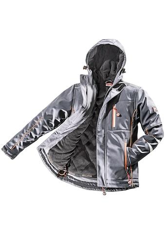 Bullstar Arbeitsjacke, warme Softshell-Jacke, mit Thermofutter kaufen