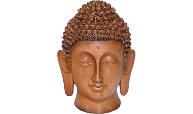 Casa Collection by Jänig Buddhafigur »Holzoptik«, Höhe: 28,5 cm kaufen