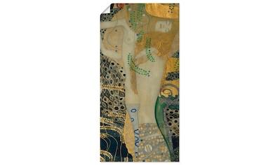 Artland Wandbild »Wasserschlangen I«, Frau, (1 St.), in vielen Größen & Produktarten -Leinwandbild, Poster, Wandaufkleber / Wandtattoo auch für Badezimmer geeignet kaufen