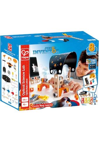 """Hape Konstruktions - Spielset """"Junior Inventor Optisches Labor"""", Holz Kunststoff, (54 - tlg.) kaufen"""