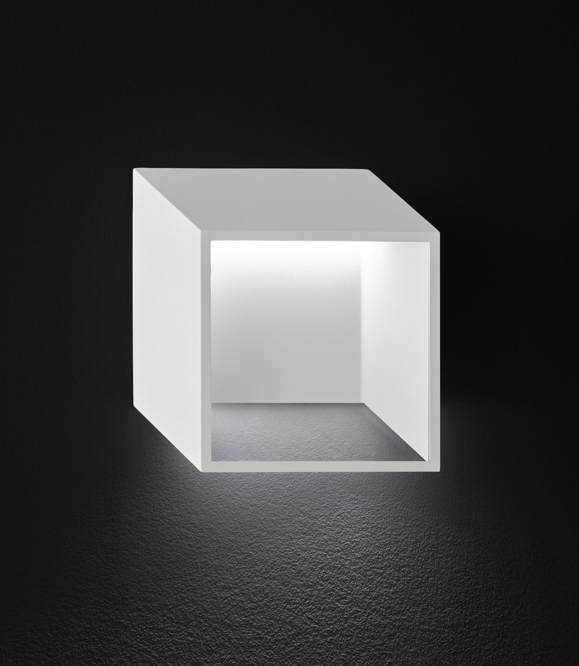 WOFI LED Wandleuchte QUEBEC, LED-Board, Warmweiß
