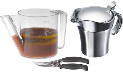 """WESTMARK Küchenhelfer - Set """"Fett - Trenn - Kanne, Geflügelschere, Thermo - Sauciere"""", (Set, 3 - tlg.) kaufen"""