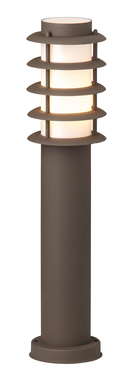 Brilliant Leuchten Oskar Außensockelleuchte rostfarbend
