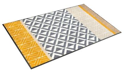 wash+dry by Kleen-Tex Teppich »Alvar«, rechteckig, 7 mm Höhe, Wohnzimmer kaufen