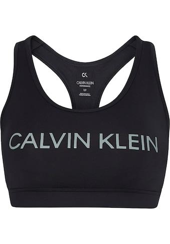Calvin Klein Performance Sport-Bustier »WO - Medium Support Sports Bra«, mit Trägern... kaufen