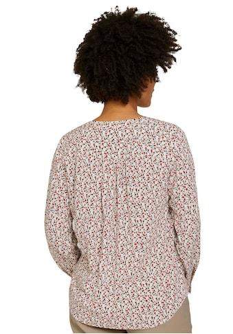 TOM TAILOR Langarmbluse, mit floralem Muster kaufen