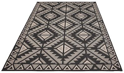 my home Teppich »Timea«, rechteckig, 7 mm Höhe, In-und Outdoor geeignet, Wendeteppich, Wohnzimmer kaufen