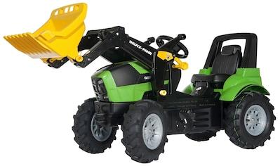 ROLLY TOYS Tretfahrzeug »Deutz Agrotron 7250 TTV«, Kindertraktor mit Lader und Luftbereifung kaufen