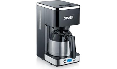 Graef Filterkaffeemaschine FK 512 mit Timer und Thermokanne, Korbfilter 1x4 kaufen