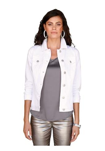 Amy Vermont Jeansjacke mit Druck im Rückteil kaufen