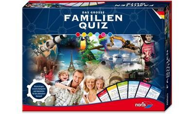Noris Spiel »Das große Familien Quiz«, Made in Germany kaufen