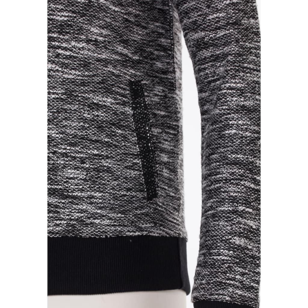 Cipo & Baxx Kapuzensweatshirt, mit Markenaufnäher