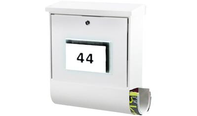 BURG WÄCHTER Briefkasten »Malaga 4400 W«, Solar - Briefkasten kaufen