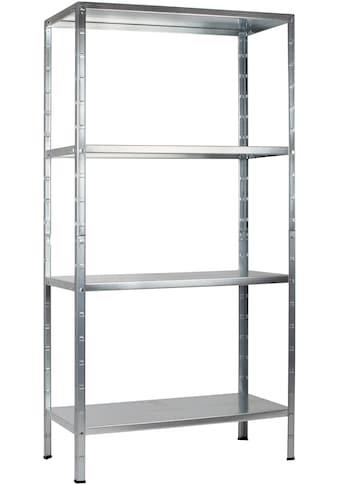Steckregal »Haushaltsregal«, B/T/H: 80x40x180 cm kaufen