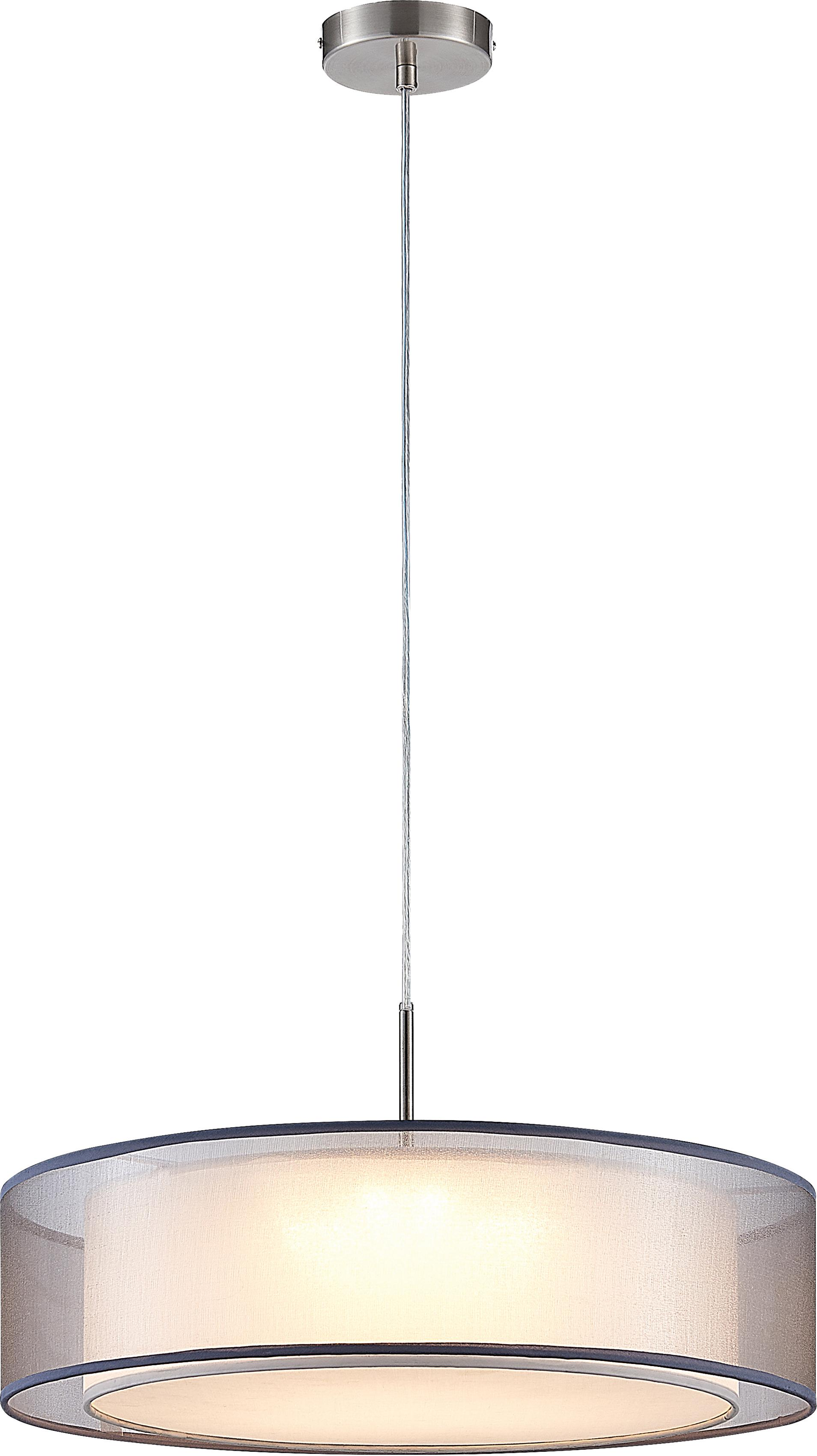 Nino Leuchten LED Pendelleuchte CHLOE, LED-Board, Warmweiß, LED Hängelampe, LED Hängeleuchte