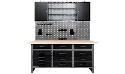ONDIS24 Werkstatt-Set »Konny«, 160 cm, höhenverstellbar, inkl. Hakenset kaufen