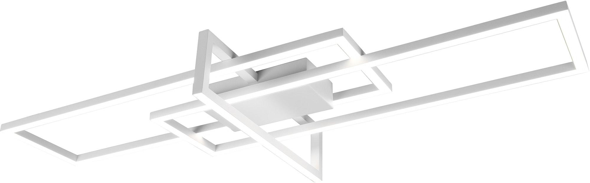 my home LED Deckenleuchte Alica, LED-Modul, 1 St., Warmweiß, Deckenlampe mit Switch Dimmer