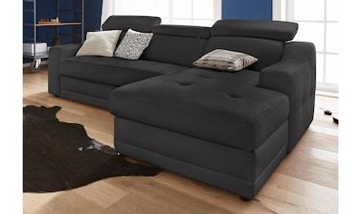 exxpo - sofa fashion Ecksofa, mit Köpf- bzw. Rückenverstellung, wahlweise mit... kaufen