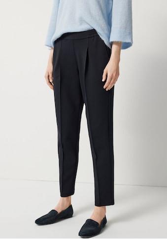 someday Stretch-Hose »Cirina«, mit Bundfalten und Biesen vorne kaufen