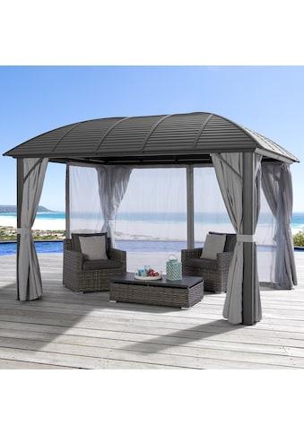 KONIFERA Pavillon »Juni«, BxT: 300x425 cm, Aluminium, mit Moskitonetz kaufen