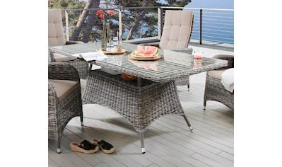 DESTINY Tisch »Bahia«, Polyrattan, 165x90 cm kaufen