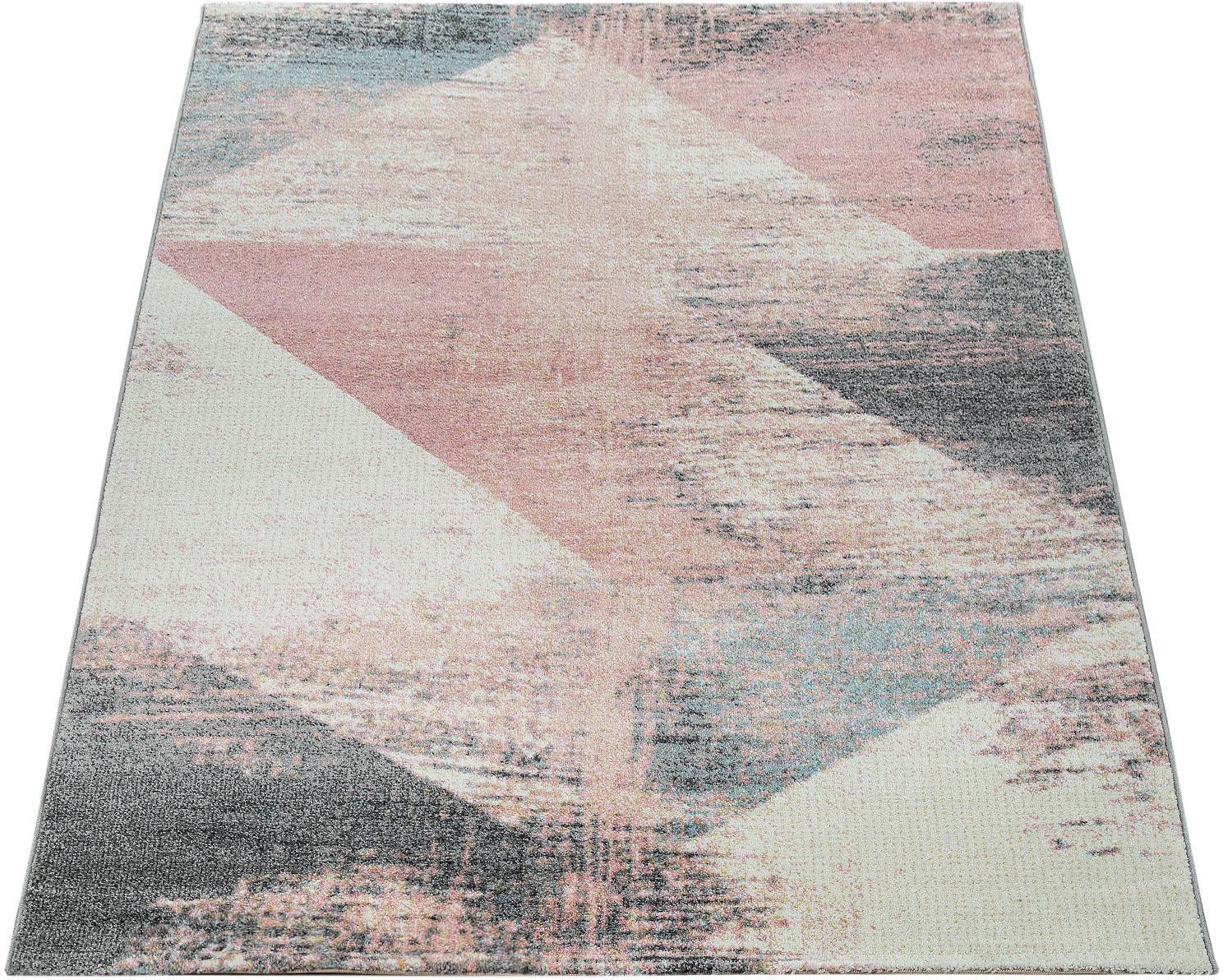 Teppich Mero 102 Paco Home rechteckig Höhe 17 mm maschinell gewebt
