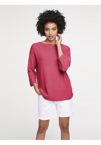 Oversized Pullover mit Struktur kaufen