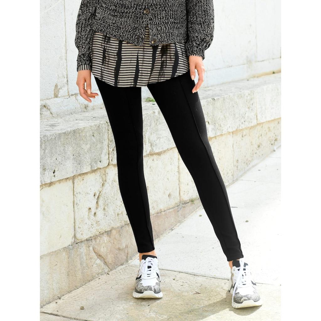 Alba Moda Leggings, aus elastischer Jerseyqualität