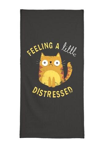 """Handtuch """"A Little Distressed"""", Juniqe kaufen"""