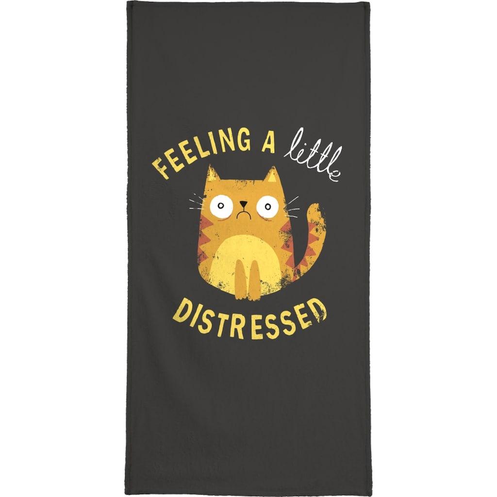 "Handtuch ""A Little Distressed"", Juniqe"