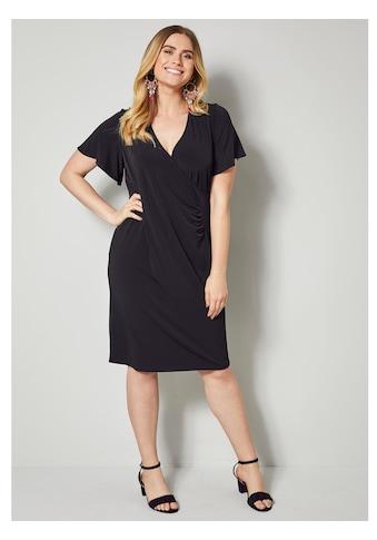 Sara Lindholm by Happy Size Jerseykleid mit Raffung kaufen