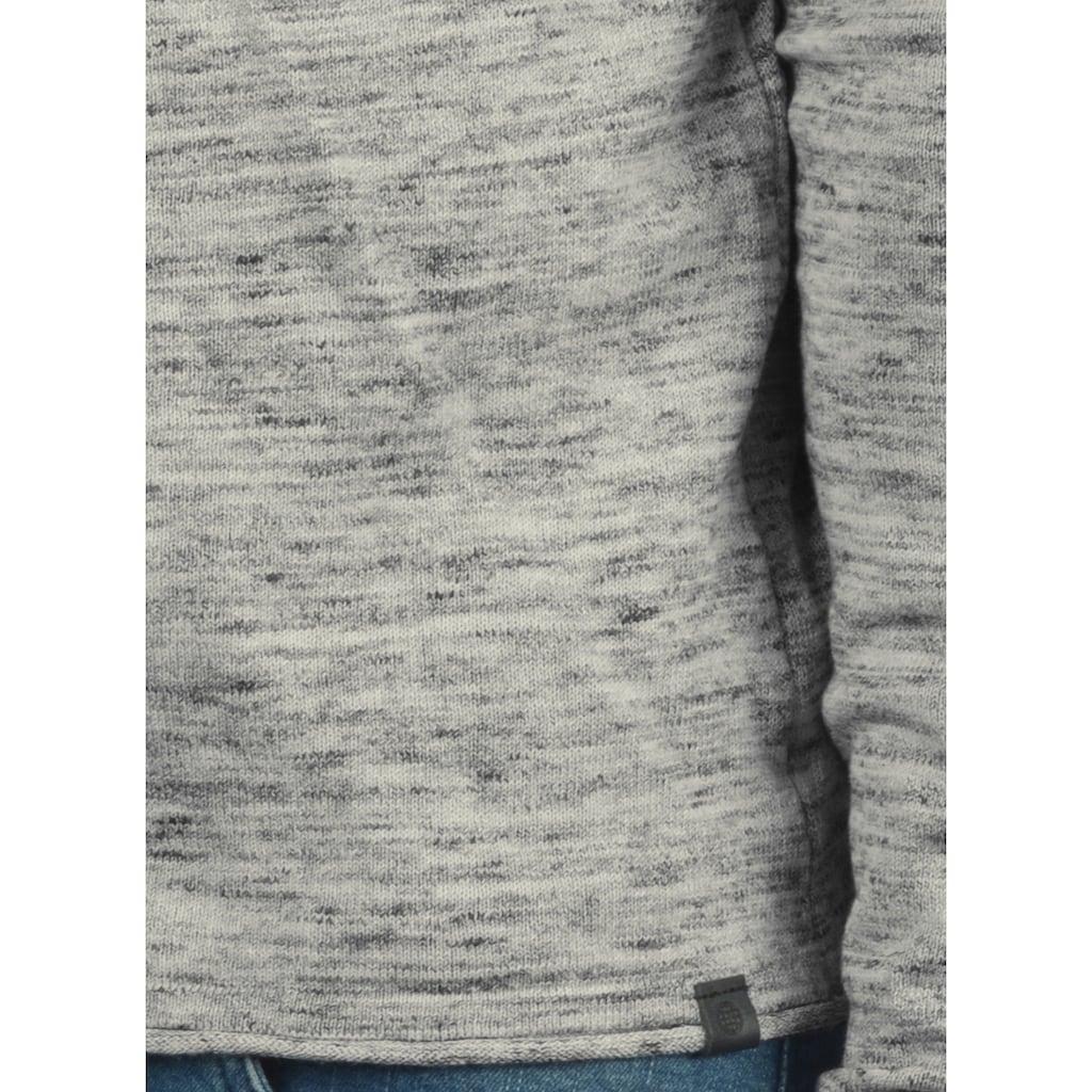 Blend Kapuzenpullover »Xing«, Strickpulli mit aufgerollten Säumen