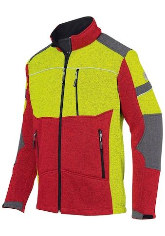 KÜBLER Jacke »FOREST Strickjacke«, mit wärmendem Plüsch, Gr. S  -  4XL kaufen