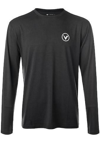 Virtus Langarmshirt »JOKER MELANGE«, mit extra hohem Viskose-Anteil kaufen