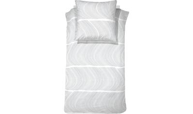 damai Bettwäsche »Ocean«, mit wellenförmigem Muster kaufen