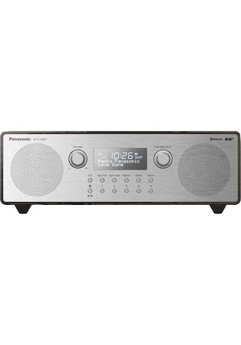 Panasonic Radio »RF-D100BTEGT«, (Bluetooth Digitalradio (DAB+)-FM-Tuner mit RDS 10 W) kaufen