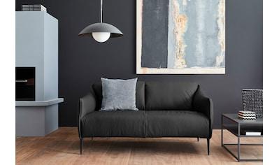 W.SCHILLIG 2-Sitzer »sally«, mit Metallfüßen in Schwarz pulverbeschichtet, Breite 154 cm kaufen