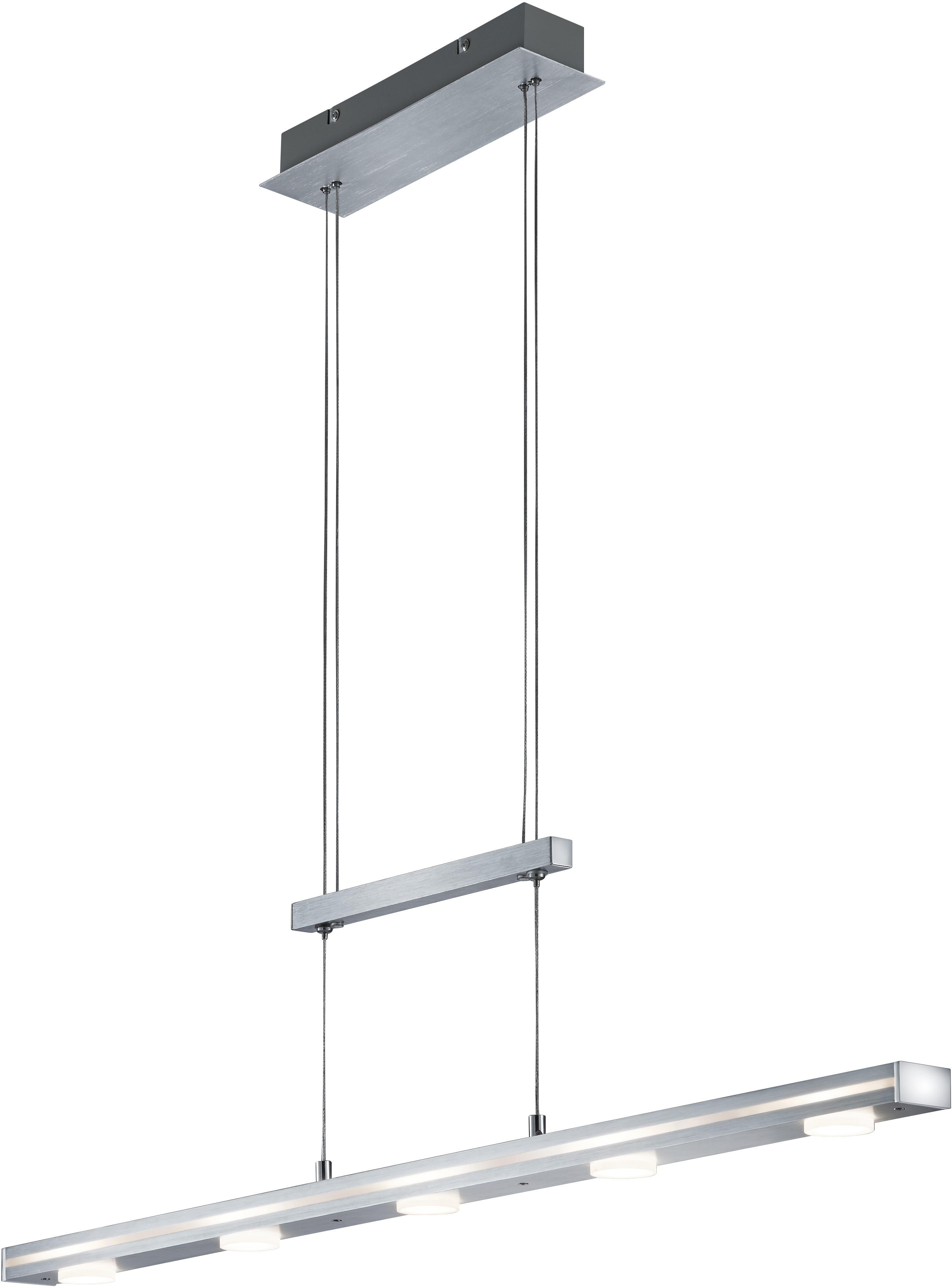 TRIO Leuchten LED Pendelleuchte CAVALLO, LED-Board, LED Hängelampe, LED Hängeleuchte